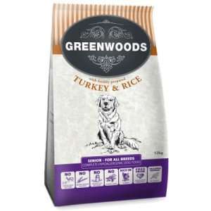 Greenwoods Senior/Light Truthahn & Reis - 2 kg