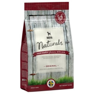 Großgebinde Bozita Naturals + Hundespielzeug Schaf gratis! - Naturals Puppy & Junior (9 kg)