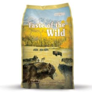 Großgebinde Taste of the Wild + 200 g Wolfshappen gratis! - High Prairie Canine (13 kg)