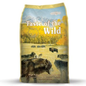 Großgebinde Taste of the Wild + 200 g Wolfshappen gratis! - Pacific Stream Canine (13 kg)