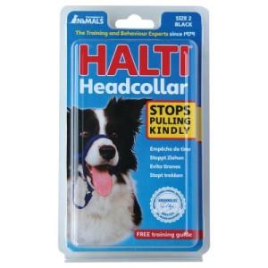 HALTI Kopfhalfter schwarz - Größe 2: Beagle