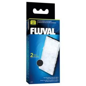 Hagen Fluval Poly-Aktivkohle-Filtereinsatz U Serie - Doppelpack: 2 x 2 Filtereinsätze für U2