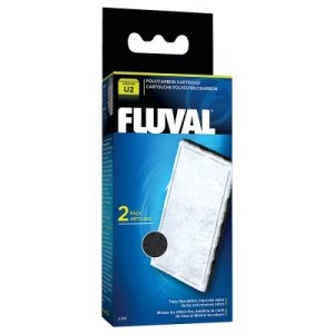 Hagen Fluval Poly-Aktivkohle-Filtereinsatz U Serie - Doppelpack: 2 x 2 Filtereinsätze für U3