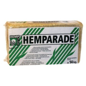 Hanf-Einstreu Hemparade - 150 l (ca. 14 kg)