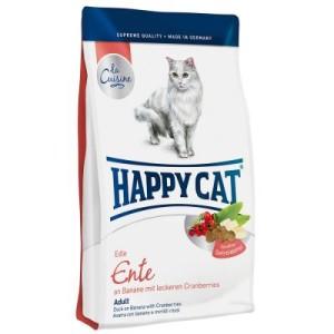 Happy Cat La Cuisine Ente - Sparpaket: 2 x 4 kg