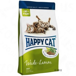 Happy Cat Supreme Adult 3 x 4 kg - 3 Sorten: Weide-Lamm