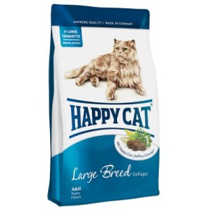 Happy Cat Supreme Adult Large Breed - Sparpaket: 2 x 10 kg