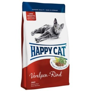 Happy Cat Supreme Adult Voralpen-Rind - Sparpaket: 2 x 10 kg