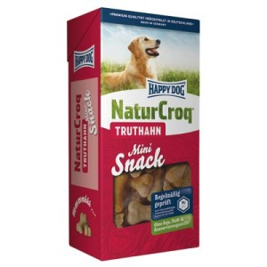 Happy Dog NaturCroq Snack Mini Truthahn - 4 x 350 g