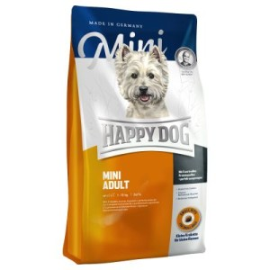 Happy Dog Supreme Fit & Well Adult Mini - Sparpaket: 2 x 4 kg