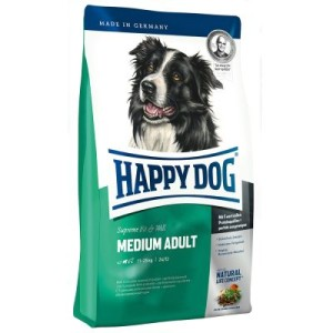 Happy Dog Supreme Fit & Well Medium Adult - Sparpaket: 2 x 12