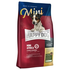 "Happy Dog Supreme Mini ""Kleine Weltreise"" - 3 x 4 kg: Afrika"