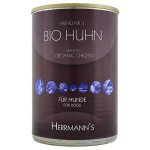 Herrmanns Menü 1 x 400 g - Bio Huhn mit Karotte & Reis