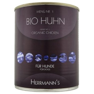 Herrmanns Menü 6 x 800 g - Bio Huhn mit Karotte & Reis