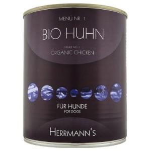 Herrmanns Menü 6 x 800 g - Bio Rind mit Buchweizen & Obst