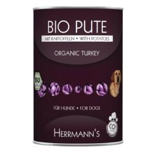 Herrmanns Menü getreidefrei 6 x 400 g - Bio Pute mit Obst & Gemüse