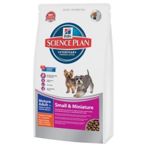 Hill´s Canine Mature Adult 7+ Small & Miniature - Sparpaket: 3 x 3 kg