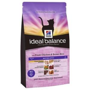 Hill´s Feline Ideal Balance Mature Huhn & Reis - Sparpaket: 2 x 2 kg