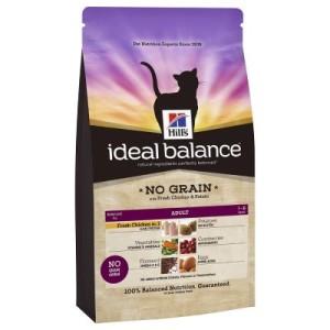 Hill´s Feline Ideal Balance No Grain Huhn & Kartoffel - 2 x 2 kg