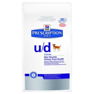 Hill´s Prescription Diet Canine u/d Non-Struvite Urinary - Sparpaket: 2 x 12 kg