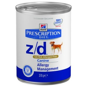 Hill´s Prescription Diet Canine z/d Ultra Allergen Free - 48 x 370 g