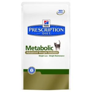 Hill´s Prescription Diet Feline Metabolic - Gewichtsabnahme - Sparpaket: 2 x 4 kg