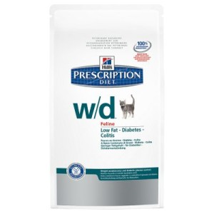 Hill´s Prescription Diet Feline w/d bei Übergewicht - 5 kg