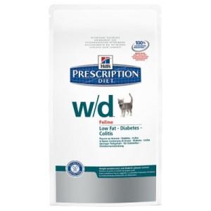 Hill´s Prescription Diet Feline w/d bei Übergewicht - Sparpaket: 2 x 5 kg
