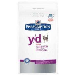 Hill´s Prescription Diet Feline y/d - Schilddrüsen-Probleme - Sparpaket 2 x 5 kg