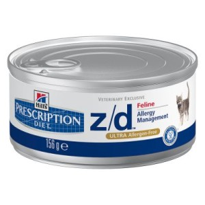 Hill´s Prescription Diet Feline z/d Ultra Allergen-Free - 6 x 156 g