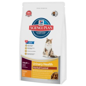 Hill´s Science Plan Feline Adult Urinary & Hairball Control - 3 kg
