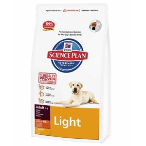 Hill's Canine Adult Large Breed Light Huhn Hundefutter - Sparpaket: 2 x 12 kg