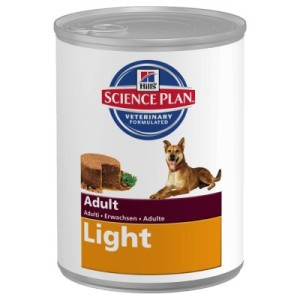 Hill's Canine Adult Light - 6 x 370 g