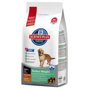Hill's Canine Adult Perfect Weight Large Breed - Sparpaket 2 x 12 kg