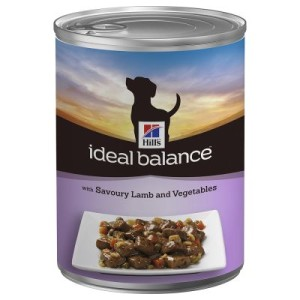 Hill's Canine Ideal Balance Adult 12 x 363 g - Braised Lamb & Vegetables