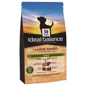 Hill's Canine Ideal Balance Adult Large Breed Huhn & Reis - 2 x 12 kg