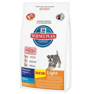 Hill's Canine Mature Adult Light 7+ Mini Huhn - Sparpaket: 3 x 2