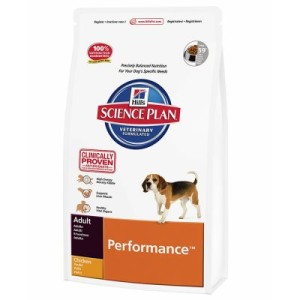 Hill's Canine Performance Huhn Hundefutter - 12 kg