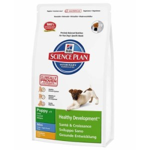 Hill's Canine Puppy Mini Huhn Hundefutter - Sparpaket: 3 x 3 kg