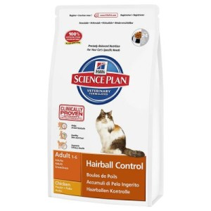 Hill's Feline Adult Hairball Control - Sparpaket: 2 x 5 kg