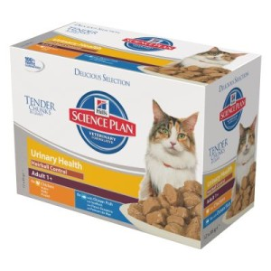 Hill`s Feline Adult Urinary & Hairball Control 12 x 85 g - Huhn