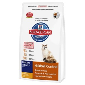 Hill's Feline Mature Adult 7+ Hairball Control - 1