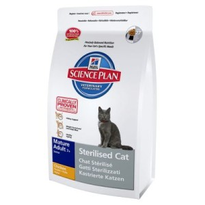 Hill's Feline Sterilised Cat Mature Adult - Sparpaket 2 x 3