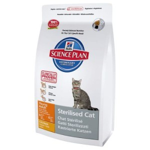 Hill's Feline Sterilised Cat Young Adult - 24 x 300 g