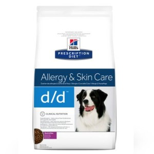 Hill's Prescription Diet Canine d/d Allergy & Skin Care - 12 kg