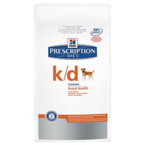 Hill's Prescription Diet Canine k/d Renal Health - Sparpaket: 2 x 12 kg