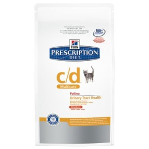 Hill's Prescription Diet Feline c/d Multicare Huhn Harntrakt - 5 kg