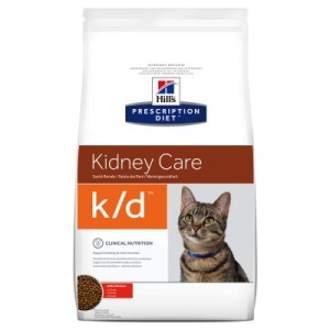Hill's Prescription Diet Feline k/d Kidney Care - Niere - Sparpaket: 2 x 5 kg