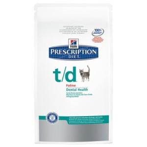 Hill's Prescription Diet Feline t/d für Zähne & Zahnfleisch - 1