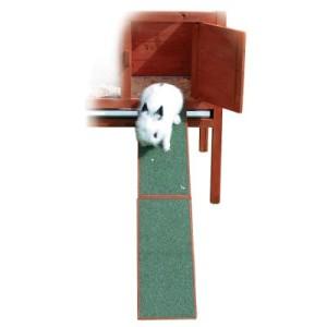 Holzrampe für Kaninchenstall - Länge 50 cm